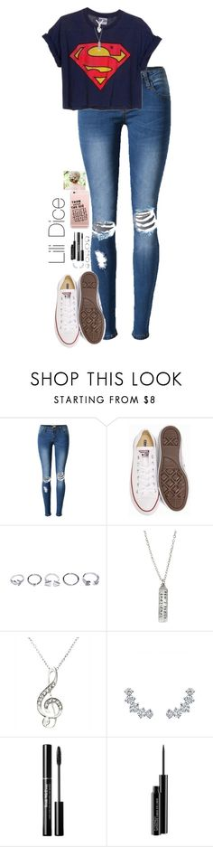 """""""Lili Dice"""" by directioner-four-ever on Polyvore featuring Converse, GUESS, Anita Ko and MAC Cosmetics"""
