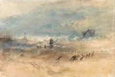 Yarmouth Sands. Joseph Mallord Turner. 1840. #yarmouth #massachusetts #capecod