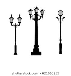 Similar Images, Stock Photos & Vectors of Lamp post collection - 102187369 Vectors, Royalty Free Stock Photos, Lights, Street, Illustration, Pictures, Image, Collection, Photos