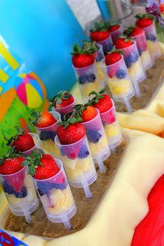 Beach Theme Food Recipes | Beach Ball Birthday Bash via Kara's Party Ideas | Kara'sPartyIdeas.com ...