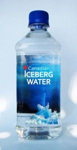 Canadian iceberg water
