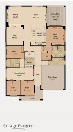 McDonald Jones Homes -The Monaco Collection - Floorplan #floorplans #luxuryhome