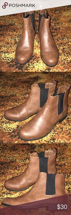 H&M Brown Booties These are nice chocolate brown booties from H&M. They are so cute but I just couldn't figure out what to wear them with. Maybe you can! Make an offer! H&M Shoes Ankle Boots & Booties