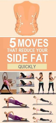 Get rid of Flab around the sides and waist now.