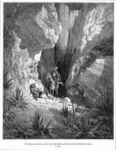 Don Quixote Reads a Sonnet — Gustave Doré | biblioklept