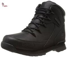 Timberland Euro Rock Hkr, Boots garçon, Black Out, 37 EU - Chaussures timberland (*Partner-Link)