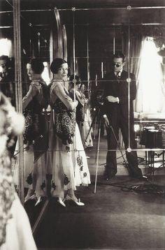Adèle Astaire et Cecil Beaton, New York, 1931.
