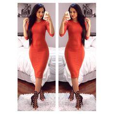 """Maria Palafox   Official IG on Instagram: """"Because I haven't posted a picture with a dress on in the last 3 days so here goes this one.    Porque no eh puesto una foto con un vestido en los ultimos 3 dias aqui les va esta.  Add me on Snapchat so you can get to know my weird self!!! MPALAFOX15 Dress/Vestido: @bellasboutique08 Heels/Zapatillas: @egoofficial"""""""