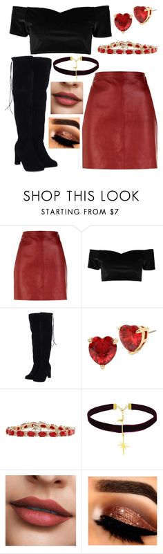 """""""Untitled #391"""" by melissaja on Polyvore featuring Sandro, Boohoo, Betsey Johnson and Ottoman Hands"""