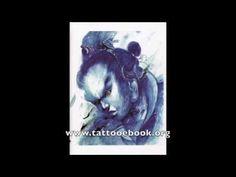 Tattoo Flash Book - Chinese Style Tattoo Design Sketch book by Zhou Xiaodong form Mummy Tattoo Studio