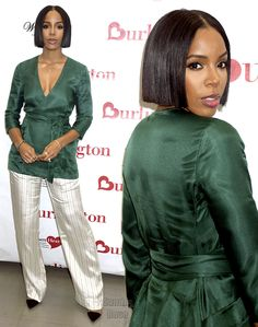 Kelly's hair and makeup! Kelly Rowland Hair, Kelly Rowland Style, Short Bob Hairstyles, Cool Hairstyles, Short Bob Styles, Weave Styles, Destiny's Child, My Black Is Beautiful, Celebs