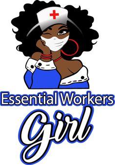 Black Love Art, Black Girl Art, Black Is Beautiful, Black Girl Magic, Art Girl, Black Girls, Black Women, Black Betty Boop, Nurse Art