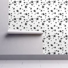 Navy Dots Painted Dot Spots Painterly On Isobar By