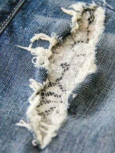 Different ideas for patching jeans