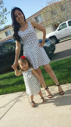 Mother daughter outfit