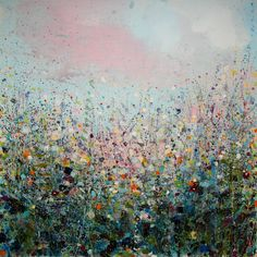 "Saatchi Online Artist: Sandy Dooley; Acrylic, 2013, Painting ""Fresh Morning"""