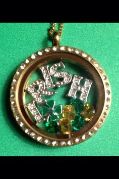 Origami Owl {St. Patty's Day} Collection!  May the luck of the Irish be with you all year!
