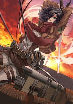Mikasa by Liuruoyu8888