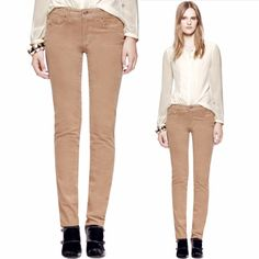 "Tory burch super skinny corduroy Super chic tan corduroy pants in ""super skinny"" by Tory burch. Great condition! Tory Burch Jeans Skinny"