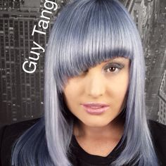 Silver Hair Tutorial coming soon in my new channel: www.youtube.com/guytanghair don't forget to subscribe