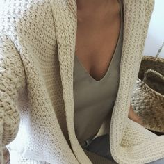 Chunky Knit Sweater Vibes ✔️