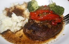 Stewed Beef with Bell Peppers - Crock-Pot Recipe - Recipezazz.com