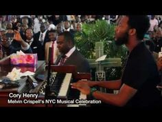 """Cory Henry's solo Tribute to Melvin Crispell """"Wonderful is your name"""" - YouTube"""