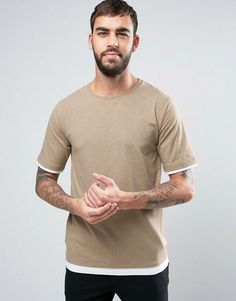 Hoxton Denim Layered T-Shirt