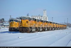 RailPictures.Net Photo: UP8223 Union Pacific EMD SD9043MAC at Missouri Valley, Iowa by Paul F. De Luca