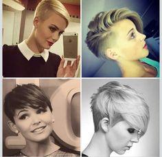 . Homemade Mocha Frappe, Pixie, Short Hair Styles, Movies, Hairstyles, Bob Styles, Haircuts, Hairdos, Films