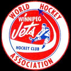 Winnipeg Jets (original) alternate logo 1972-74