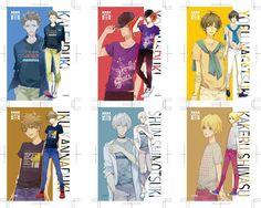 Tsukiuta part 2 Mahouka Koukou No Rettousei, Tsukiuta The Animation, Picture Boards, Months In A Year, Manga, Kuroko, My People, Me Me Me Anime, Cute Boys