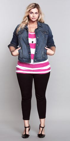 Candy-colored stripes...so chic! #ShopByOutfit