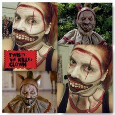 American horror story Twisty the clown / makeup / facepaint / cosplay / makeup ideas https://www.facebook.com/esmmua