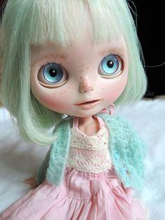 Claire a OOAK Custom Blythe Art Doll by BeBe Blythe #Blythe #Dolls