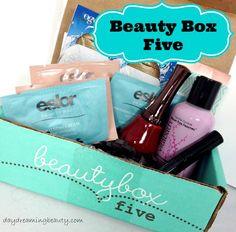 Beauty Box Five June #bb5 daydreamingbeauty.com