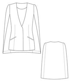 Cape blazer #1502 tech