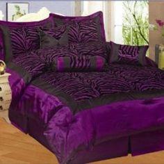 Shop Black Zebra Comforters on Wanelo