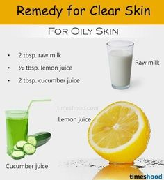 Raw milk, cucumber and lemon juice face mask for clear skin. Cucumber for skin, cucumber for acne, cucumber for oily skin. Beauty tips to get clear skin at home? Home remedies for clear skin. Clear Skin Fast, Clear Skin Tips, Clear Face, Beauty Tips For Skin, Skin Care Tips, Natural Beauty, Beauty Hacks, Natural Skin, Beauty Tips At Home
