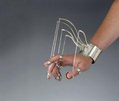 Mechanical Jewellery by Jennifer Crupi