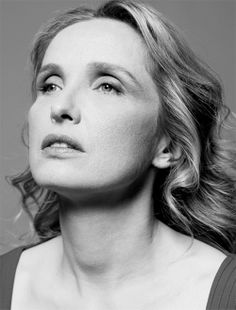 Julie Delpy (1969) - French-American actress, director, screenwriter, and singer-songwriter.  Photo by Peter Hapak