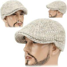 Boinas tejidas para hombre - Imagui