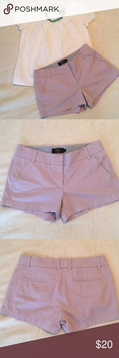 J.crew chino shorts, size 4 J.crew chino shorts, size 4, top and necklace not included J. Crew Shorts