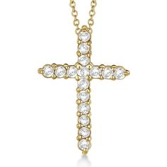 Uniquepedia.com - Diamond Cross Pendant Necklace 14kt Yellow Gold (0.50ct), $888.00 (http://www.uniquepedia.com/diamond-cross-pendant-necklace-14kt-yellow-gold-0-50ct/)