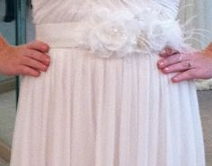 DIY wedding dress sash    I am making mine for your wedding Lo! :)   let me know if you want me to make more! In purple of course :)