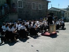 Broche de ouro as Festas de Rebordechan, coa Banda de Musica de Salceda de Caselas
