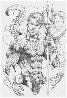 Aquaman Marcio Abreu(low) by MARCIOABREU7.deviantart.com on @DeviantArt