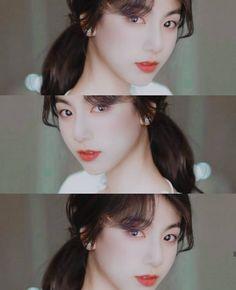 Jungkook Oppa, Jungkook Fanart, Vkook Fanart, Taehyung, Taekook, Au Ideas, Stray Kids Chan, Bts Girl, Tan Girls