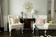 Glam Living Room seating