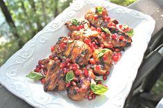 Pomegranate Grilled Chicken